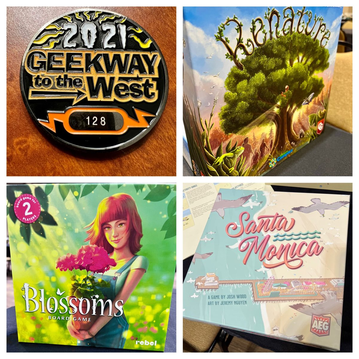 Geekway 2021: Day 1, Monday